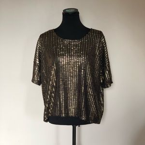 H&M glam shirt